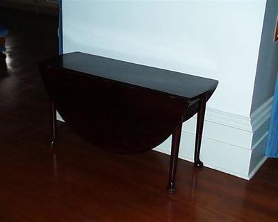 table, dropside