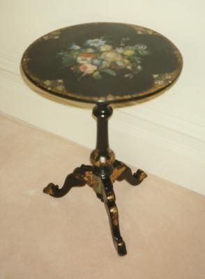 table, tripod