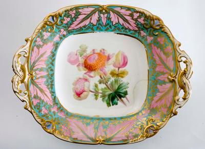 plate, dessert; A0370.8