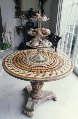 table, specimen
