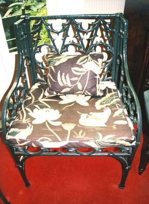 chair, garden