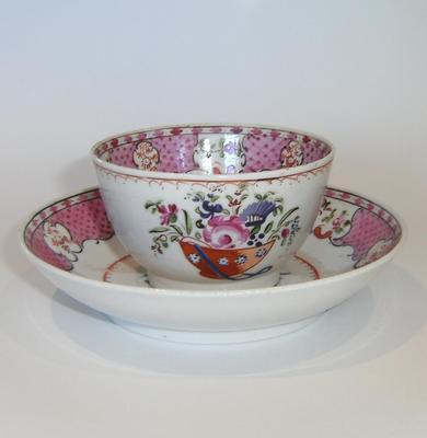 bowl, tea and saucer