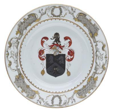 bowl, soup, armorial