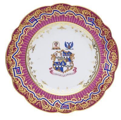 plate, armorial
