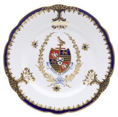 dish, armorial; A1470