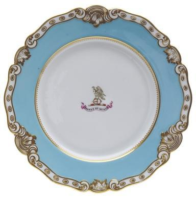 plate, armorial