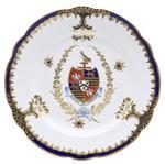 dish, armorial